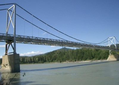 Liard River Bridge, Alaska Highway