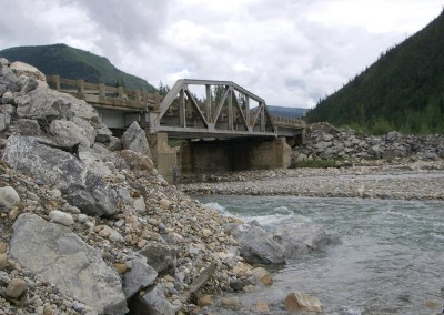 Tetsa River Bridge, Alaska Highway