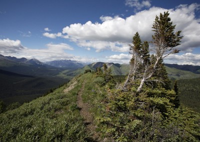 Fort Nelson Area Mountain Scenery
