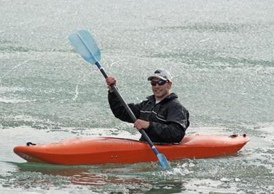 Kayaking at Summit Lake