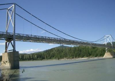 Liard River Bridge, Alaska Highway